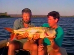 John Wilson Fishes for Tiger Fish in the Zambezi